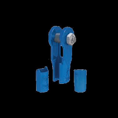Fast connector sockets met bout en moer vrijstaand